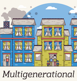 2 4 units for the multigenerational household duplex san for Multigenerational homes for sale