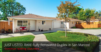 JUST LISTED: Rare San Marcos Duplex- Fully Renovated!